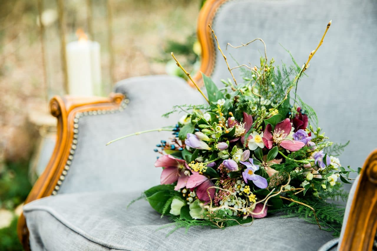 Woodland Luxe flowers