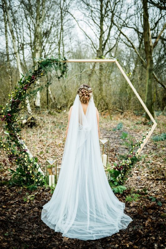 Woodland Luxe veil