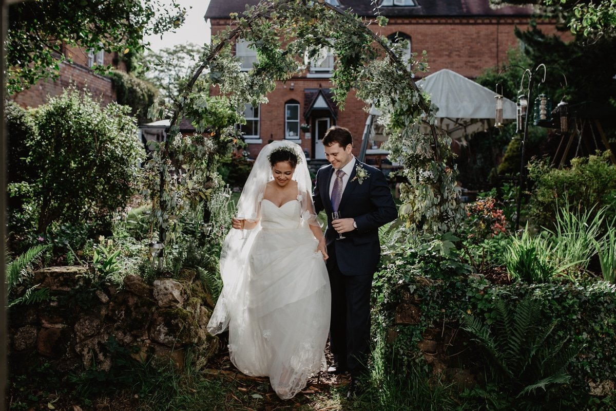 Rheannie and Samuel DIY Garden Wedding