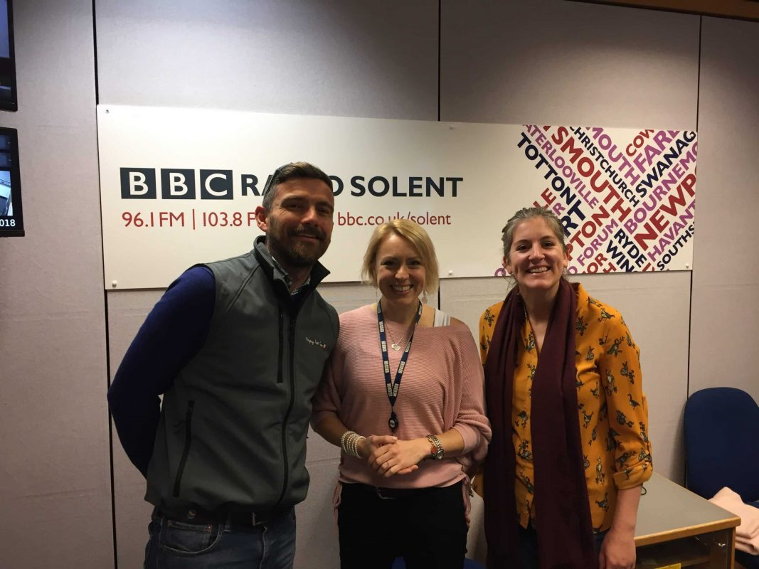 Emily & Alan on BBC Radio Solent