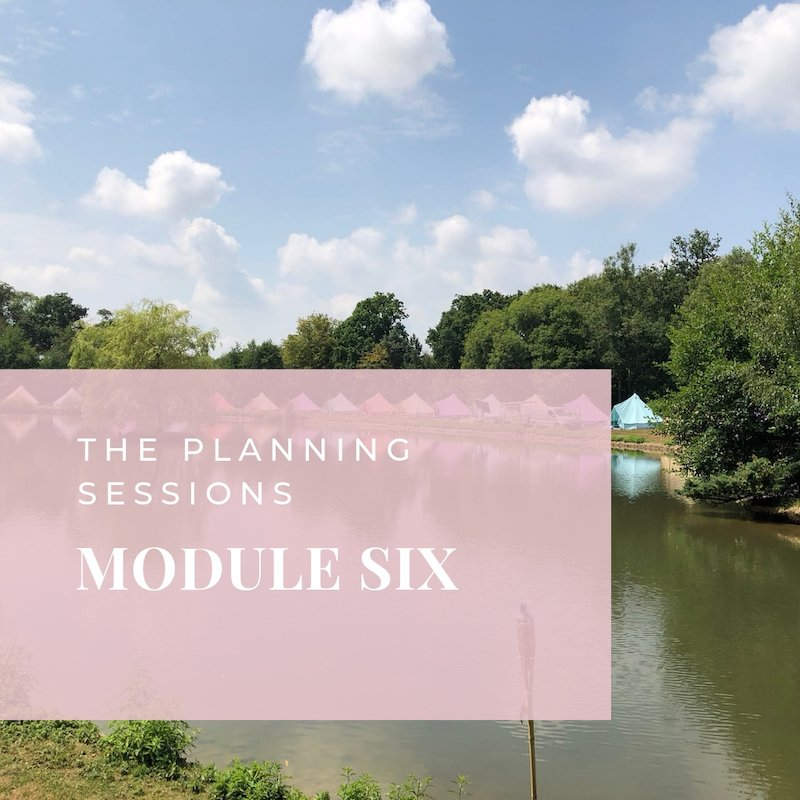 The Planning Sessions module 6