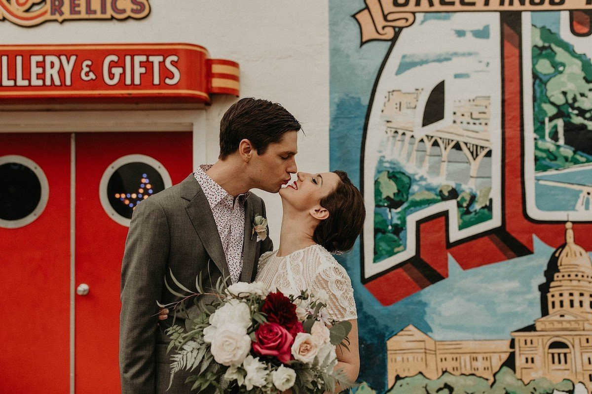 intimate family wedding texas