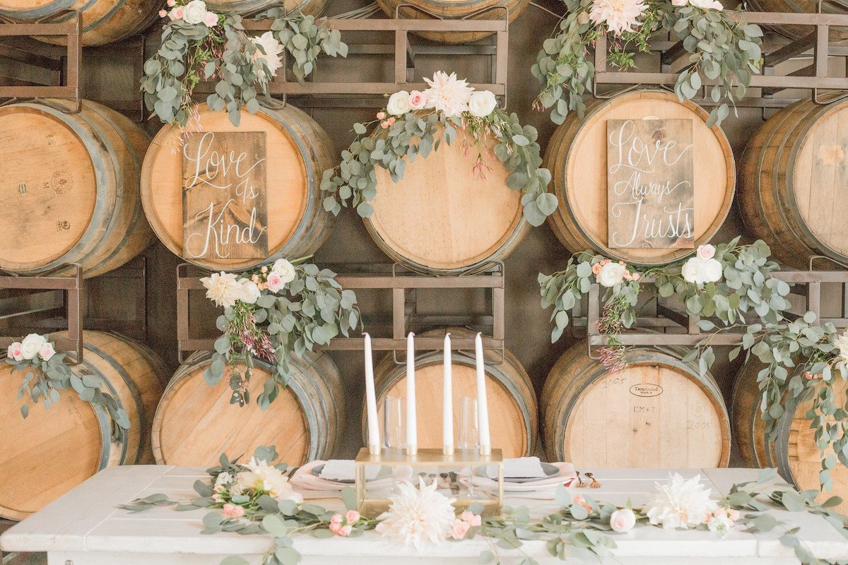 winery wedding inspiration